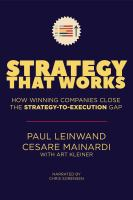 Strategy That Works