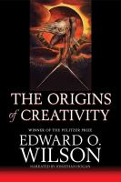 ORIGINS OF CREATIVITY [BOOK ON CD]