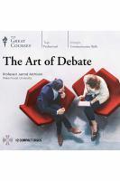 The Art of Debate (Audiobook on CD)