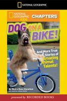 Dog on A Bike!