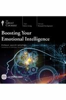BOOSTING YOUR EMOTIONAL INTELLIGENCE [BOOK ON CD]