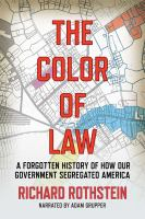 COLOR OF LAW [BOOK ON CD]
