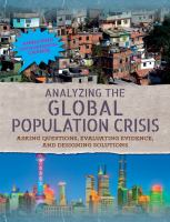 Analyzing the Global Population Crisis
