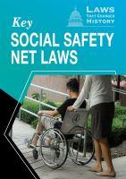 Key Social Safety Net Laws