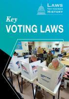 Key Voting Laws