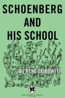 Schoenberg and His School