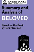Summary And Analysis Of Beloved