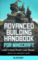 Advanced Building Handbook for Minecraft