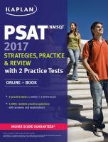 PSAT/NMSQT 2017