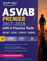 ASVAB Premier 2017-2018