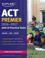 ACT® Premier 2016-2017