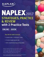 NAPLEX 2017 Strategies, Practice & Review