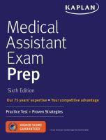 Medical Assistant Exam Prep