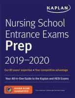 Nursing School Entrance Exams Prep