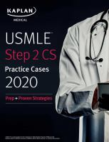 USMLE Step 2 CS Lecture Notes