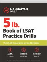 5 Lb. Book of LSAT® Practice Drills