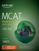 MCAT Biology Review 2020-2021 : Online + Book