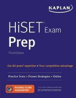 HiSET Exam Prep