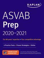 ASVAB Prep 2020-2021