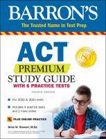 Barron's ACT Premium Study Guide