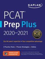 PCAT Prep Plus, 2020-2021