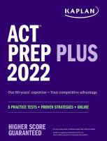 ACT Prep Plus