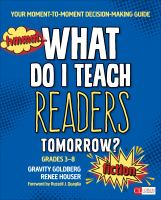 Hmmm ... What Do I Teach Readers Tomorrow?