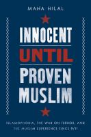 Innocent Until Proven Muslim