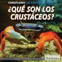 ¿qué son los crustáceos?