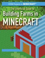 UNOFFICIAL GUIDE TO BUILDING FARMS IN MINECRAFT