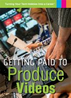 Getting Paid to Produce Videos