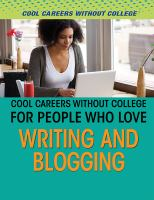 Cool Careers Without College for People Who Love Writing and Blogging