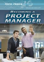 Becoming A Project Manager