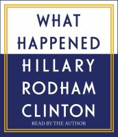 What Happened (Audiobook on CD)
