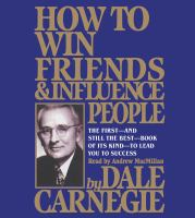 HOW TO WIN FRIENDS AND INFLUENCE PEOPLE (CD)