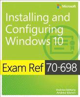 Exam Ref 70-698