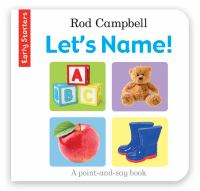 Let's Name! :|[a Point-and-say Book]