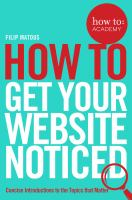 How to Get your Website Noticed