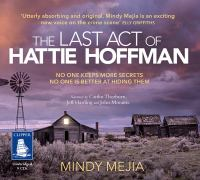 The Last Act of Hattie Hoffman[audio Book MP3]