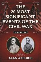 20 Most Significant Events of the Civil War
