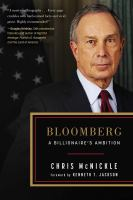BLOOMBERG : A BILLIONAIRE'S AMBITION