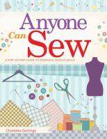 Anyone Can Sew