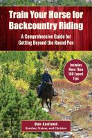 Train your Horse for Backcountry Riding
