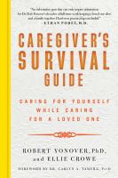 Image: Caregiver's Survival Guide