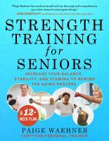Cover of Strength Training for Seniors