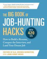 The Big Book of Job-hunting Hacks