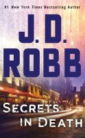 SECRETS IN DEATH [audiobook Cd]