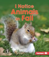 I Notice Animals in Fall