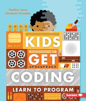 Kids Get Coding (series)(book-cover)