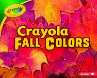 Crayola Fall Colors